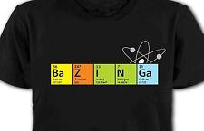 New Big Bang Theory T-shirt Bazinga Cooper Sheldon Funny All Sizes