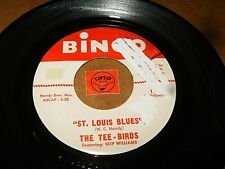 THE TEE - BIRDS - ST LOUIS BLUES - FOGGY RIVER   / LISTEN - ROCK INSTRO POPCORN
