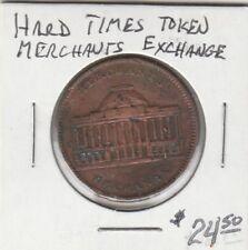 (H) Token - Merchants Exchange - Hard Times Token
