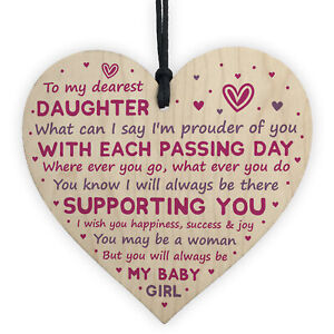 Daughter Gifts From Dad Mum 18th 21st Birthday Gift Card Mother Daughter Gifts