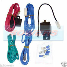 UNIVERSAL 12V FOG LIGHT SPOT-LAMP SPOT-LIGHT WIRING LOOM HARNESS KIT + RELAY