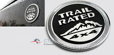 ON SALE 3D Badge Emblem Decal Car Sticker With Trail Rated 4x4 Logo For Jeep/SUV