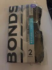 Womens Bonds Boyleg Hipster Size 16 Black Brand New Briefs (2 Pack)