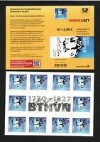 Deutschland BRD 2020 Bund Musik Beethoven Markenheftchen MH Nr 116 Mi 3520 SK **