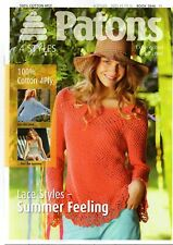 Patons Knitting Pattern Leaflet Lace Styles Summer Feeling Cotton 4 ply - 3846