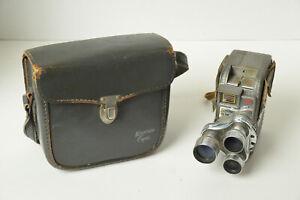 Keystone: K27 Capri Triple Turrent Double  8 mm Cine Film Camera