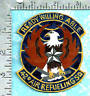 USAF hand painted leather patch (1980's) 42nd Air Refueling Squadron Loring AFB