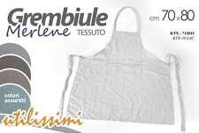 GREMBIULE CUCINA TESSUTO DECORO MERLENE 70*80 CM CON TASCA UTILISSIMI KTX-712104