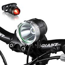Night Eyes-Brightest 1200 Lumens Rechargeable Bike Light Mountain Bike headla...