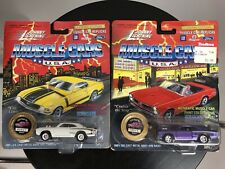 Lot of 2 Johnny Lightning Muscle Cars 1970 Super Bee 1:64 Limited Cragar Mags