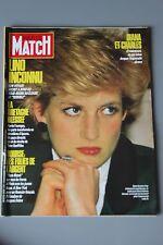 REVUE PARIS MATCH N°2007/1987 DIANA CHARLES /LINO SOUS MARIN /BRETAGNE BLESSEE