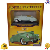 Diecast Matchbox 1936 Lincoln Zephyr Models of Yesteryear Y-64/b K1876 Model Car