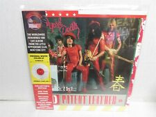 NEW YORK DOLLS Red Patent Leather 1975 Album WHITE VINYL LP New SEALED