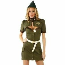 Forplay 595018 Army Seductress Adult Womens Costume