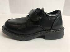 French Toast Toddlers/Boys Adjustable Strap Black Dress Shoes Size 9