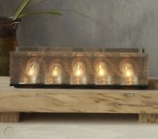 PartyLite Infinite Reflections Prism Tealight Candle Holder