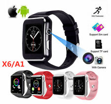 X6/A1 Bluetooth Smart Watch Camera Phone Mate Gsm Sim For Android iPhone Samsung
