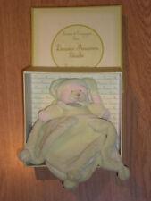 Peluche Doudou et Compagnie Ours bear orso teddy Macaron vert pistache pétale 9