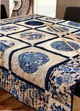Pacific Blues Quilt Pattern Pieced/Applique TP
