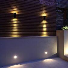 Outside LED Wall Light Outdoor Exterior Double Up And Down Garden Wall Lamp New