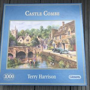 GIBSONS 'Castle Combe' 1000 Piece Jigsaw Puzzle