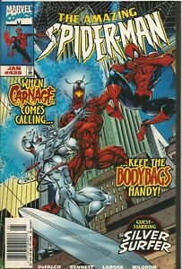 AMAZING SPIDER-MAN # 430- JANUARY 1998 - CARNAGE APPEARS