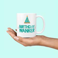 Funny Rude 30th Birthday Gift For Him - Birthday Wanker Present Gifts Mug