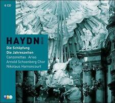 Haydn: Creation / Seasons / Canzonettas, New Music