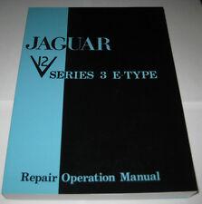 Werkstatthandbuch Jaguar E-Type 5.3 V12 Series III, Baujahre 1971 - 1974