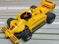 Per H0 Slotcar Racing Modellismo Ferroviario Indy Pennzoil Con Tyco Motore