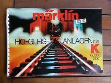 Catalogue trains Märklin Réseaux  - Toy train catalogue Märklin HO