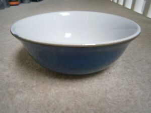 A SUPER STYLISH DENBY IMPERIAL BLUE CEREAL / SOUP BOWL 16CMS GREAT CONDITION
