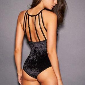 Frederick's of Hollywood x Megan Fox Velvet teddy / bodysuit