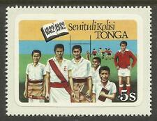 TONGA 1982 COLLEGE CENTENARY RUGBY UNION Tongan Language 1v MNH