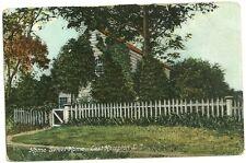 1909 used postcard home sweet home east hampton long island new york