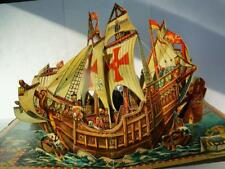 HOW COLUMBUS DISCOVERED AMERICA VOJTECH KUBASTA RARE 1960 3D POP UP BOOK
