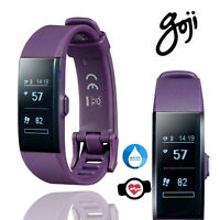 Goji HD Fitness Tracker Monitor Smart Heart Rate Watch Pedometer Bluetooth Sport