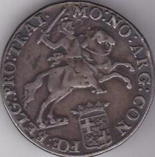1791 Netherlands Utrecht 60 Stuiver Silver Rider Ducaton Coin