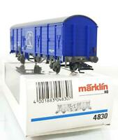 MARKLIN 4830 HO 3 RAIL - AUSTRIAN ÖBB SKI EXPRESS CLOSED VAN WAGON