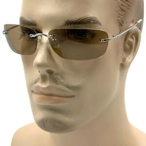 Matrix NEO Metal Wire Frameless Glasses Movie Inspired Sunglasses Rimless