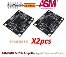 2pcs PAM8610 Power Amplifier Board 2x15W Amplifier Digital Two-Channel Stereo