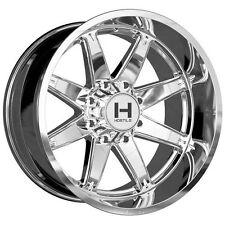 IN STOCK! 4 NEW 22x10 Chrome Wheel Hostile Alpha H109 8x170 -25 Ford F250 F350