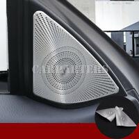 For Benz E Class Coupe W207 C207 Matte Car Door Audio Speaker Cover 2009-2016