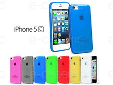 Coque Housse Case Bumper GEL SILICONE TPU pour iPhone 5C + Film Avant Offert
