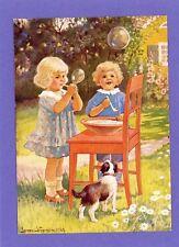 Children - Jenny Nystrom Artist Signed Vintage Postcard