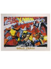 X-Men Gold Team Lithograph Joe Quesada Marvel Comics Universe Limited Edition