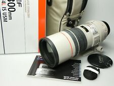 Canon EF 300 mm F/4 IS L USM BOXED