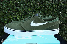 NIKE SB ZOOM STEFAN JANOSKI SZ 11.5 LEGION GREEN WHITE BLACK 333824 310