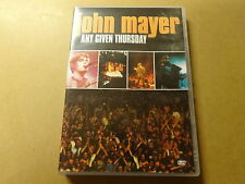 MUSIC DVD / JOHN MAYER: ANY GIVEN THURSDAY