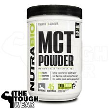 NUTRABIO - MCT POWDER 1pound - Caloric source for weight gain - Source of Energy